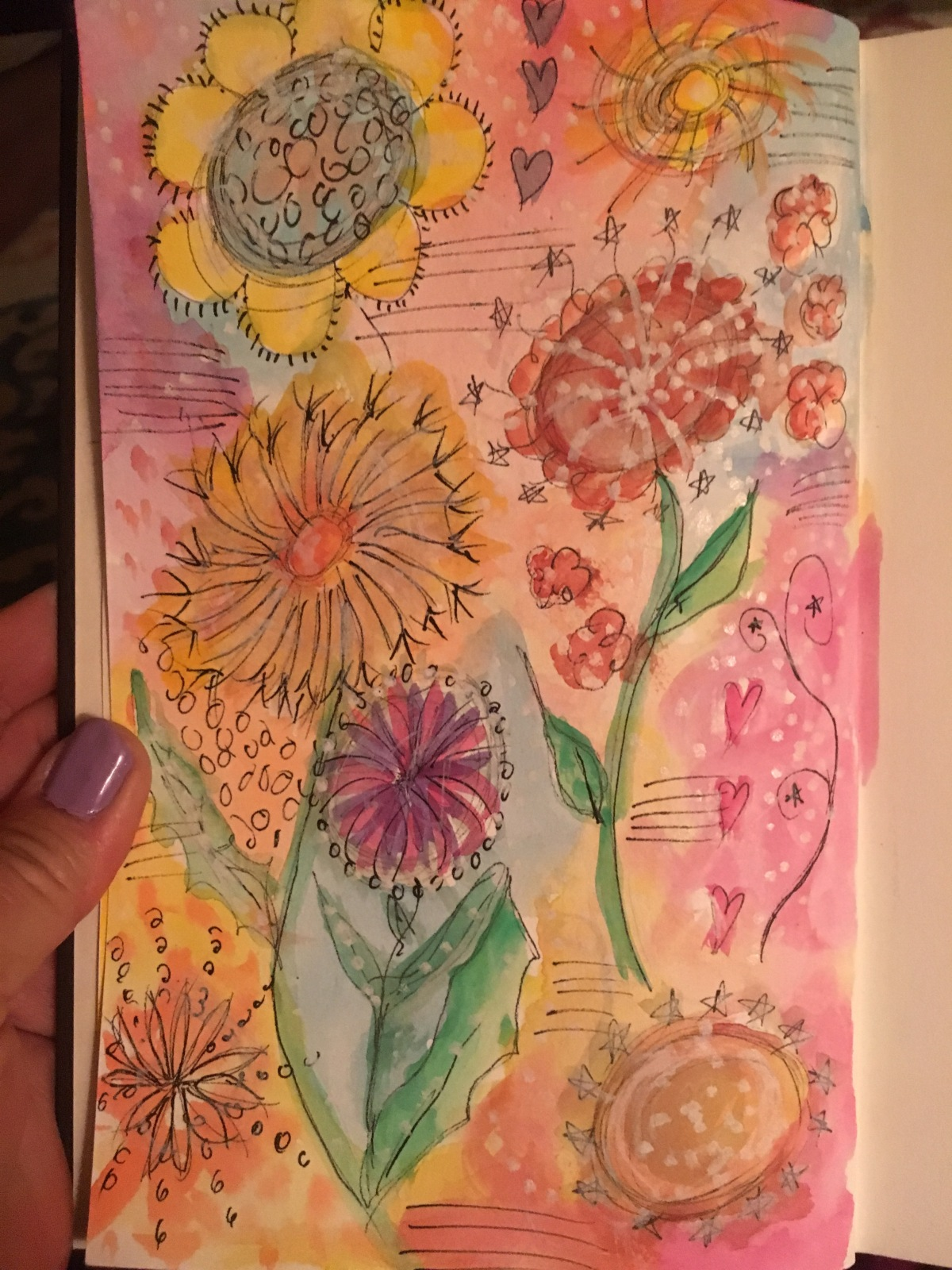 Summer Art Journal 2016…Just for Fun!